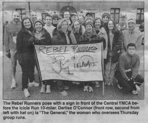 NewsJournal article photo of the Rebel Runners