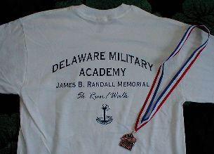 DMA 5k race shirt with medal