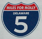 Miles for Molly 5k logo