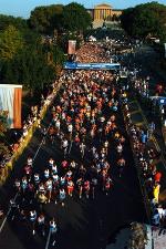 Start of 2005 Philadelphia Distance Run