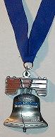PDR finisher medal