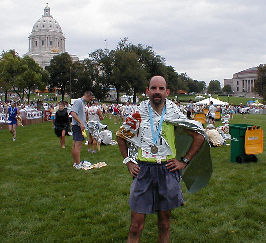 TuckIn after finish in St. Paul