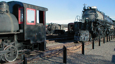 Steamtown locomotives