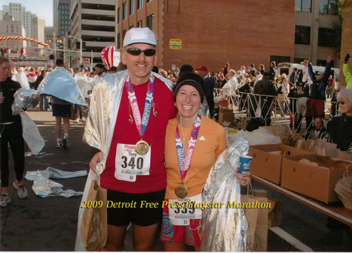 Detroit Marathon finishers